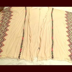 Aztec print kimono 🔹 Umgee XL